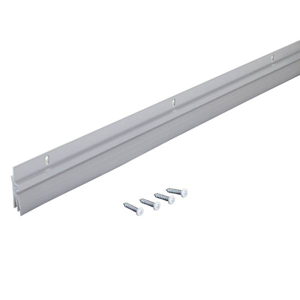 Triple-Fin Aluminum & Vinyl Door Sweep