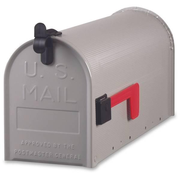Gray Medium Mailbox