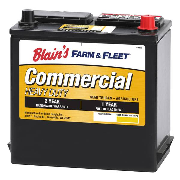 12V 24 Month Commercial Battery