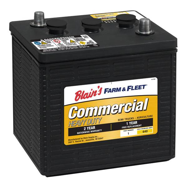 6V 24 Month Commercial Battery