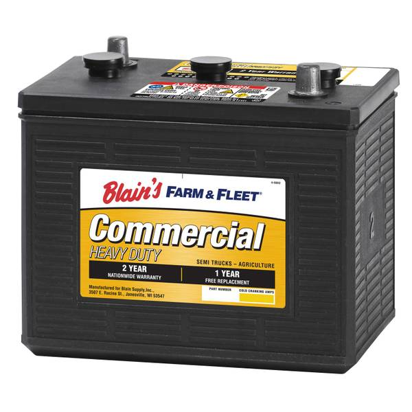 Blain S Farm Amp Fleet 6v 24 Month Commercial Battery