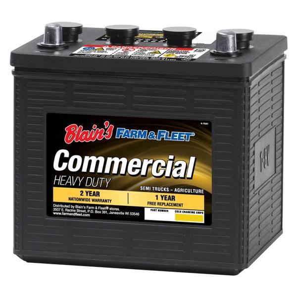 8V 24 Month Commercial Battery