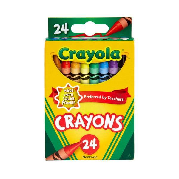 Nontoxic Crayons - 24 Pack