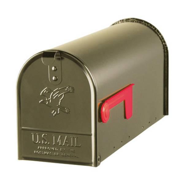 Elite Medium Galvanized Steel Mailbox
