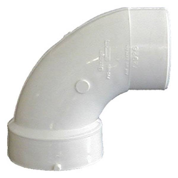 PVC DWV 90 Degree Sanitary Street Elbow