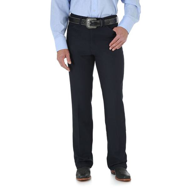 Men's Navy Wrancher Dress Jeans