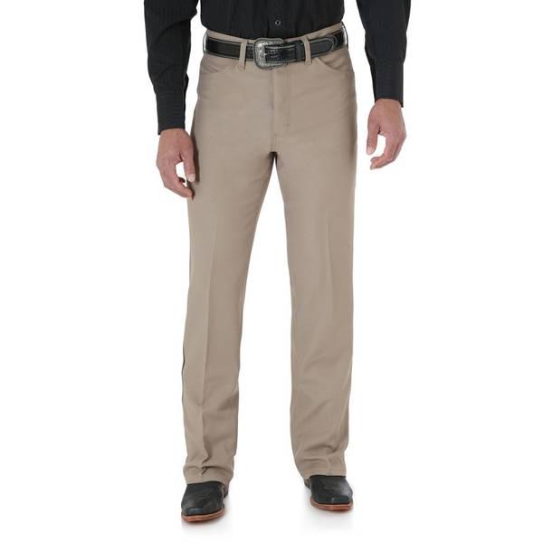 Men's Tan Wrancher Dress Jeans