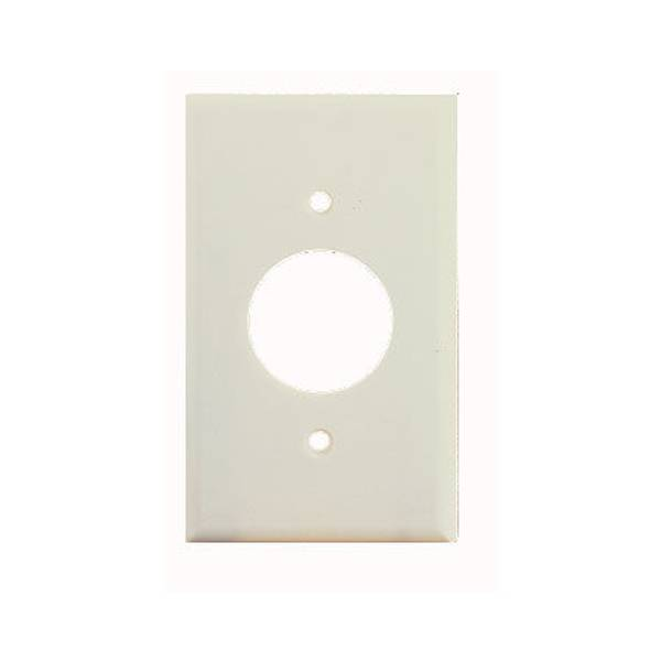 Standard Size Single Receptacle Wallplate