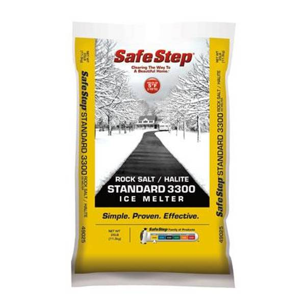 Halite Rock Salt Standard 3300 Ice Melter