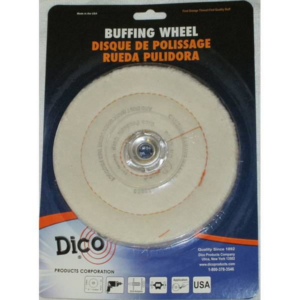 Canton Flannel Buffing Wheel