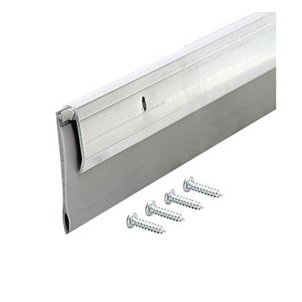 Deluxe Aluminum and Vinyl Door Sweep