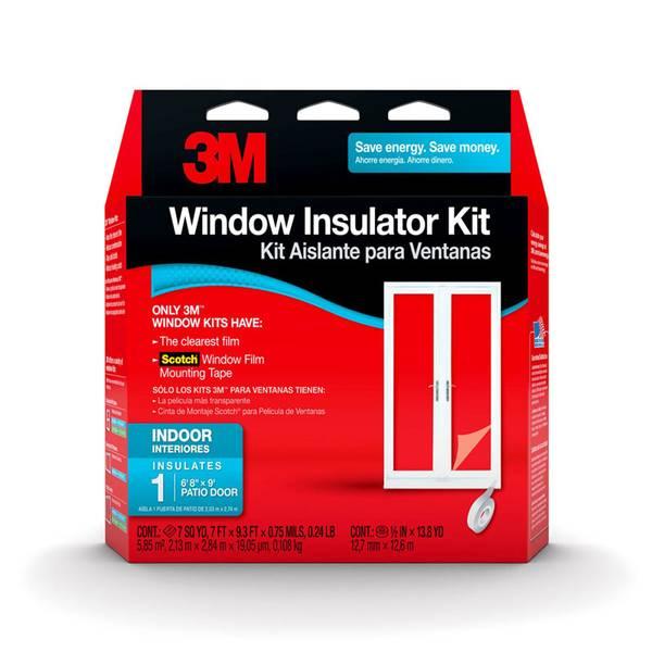 Indoor Patio Door Window Kit