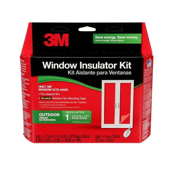 Outdoor Patio Door Window Kit