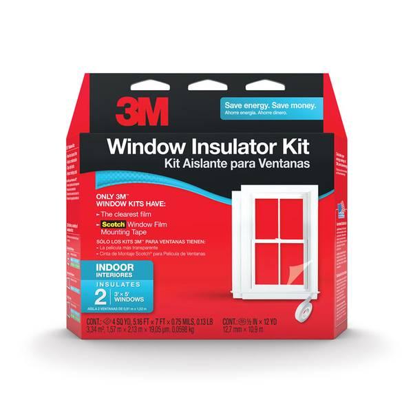 Indoor Window Insulator Kit
