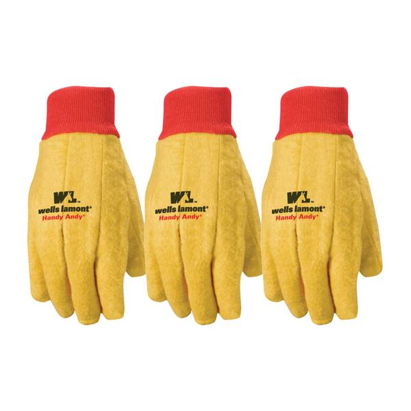 Standard Weight Chore Gloves 3 Pack