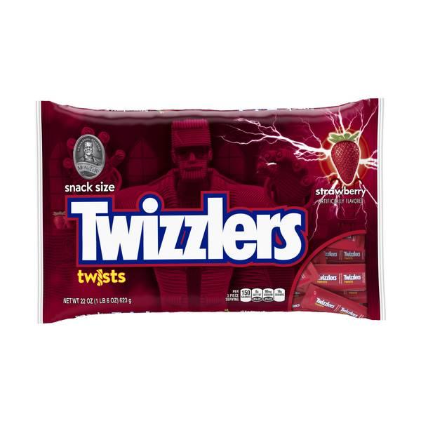 Halloween Snack Size Strawberry Twists