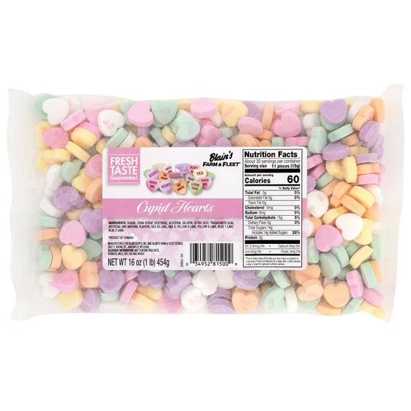 Cupid Hearts Candy