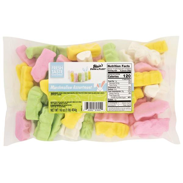 Assorted Marshmallows