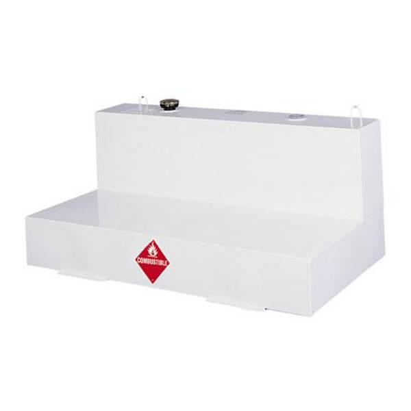 103 Gallon L - Shaped Steel Liquid Transfer Tank
