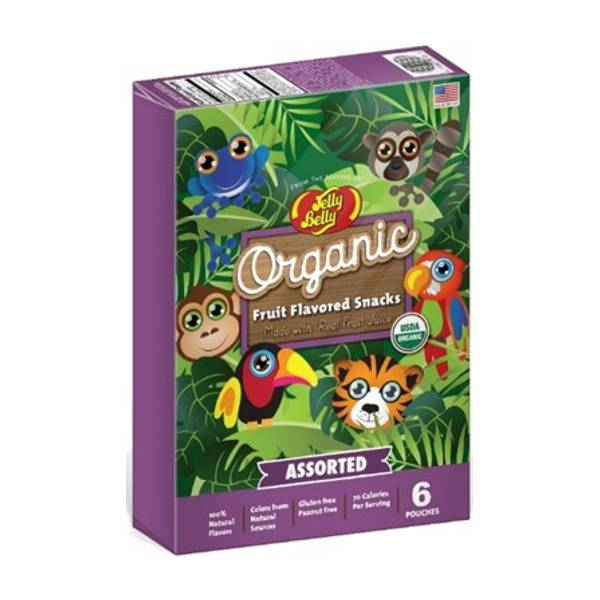 Organic Fruit Flavored Snacks - Rainforest Animals Assortment