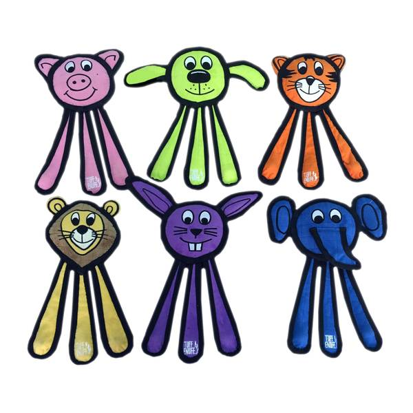 Tuff Enuff Animals Dog Toy Assortment