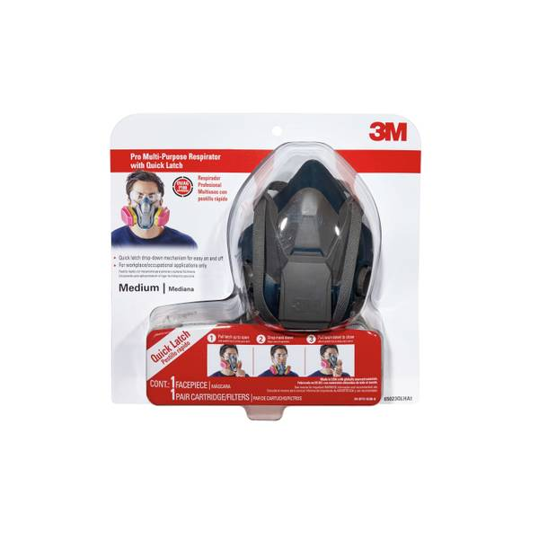 3m pro respirator mask