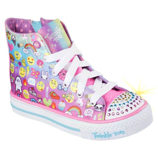 Girls' Multi-Colored Twinkle Toes: Shuffles - Chat Time Shoes