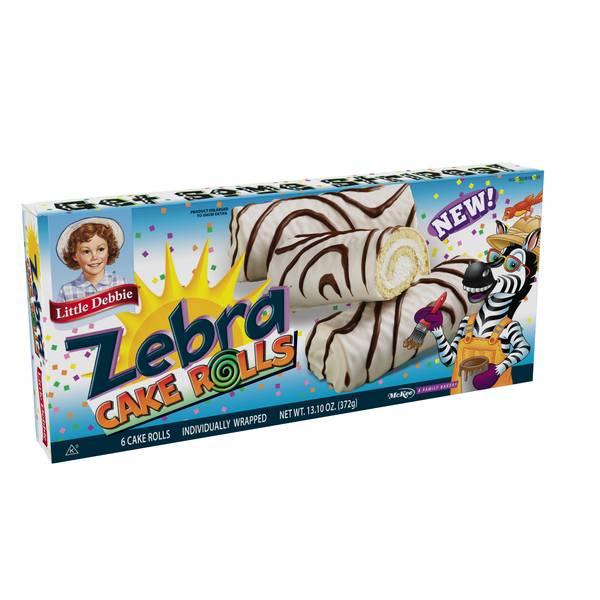Zebra Cake Rolls