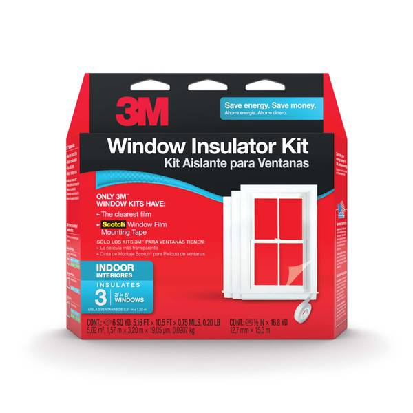 Indoor Window Insulator Kit