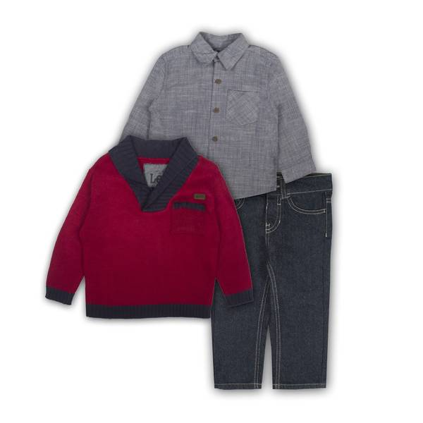 Toddler Boys' Shirts & Jean Set