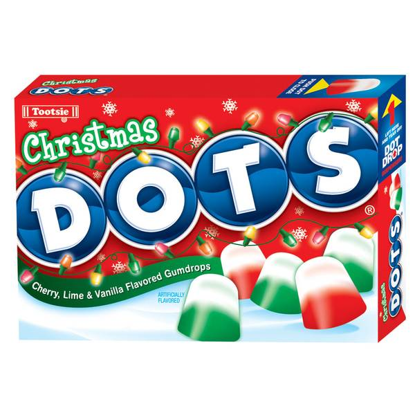 Christmas Dots Candy