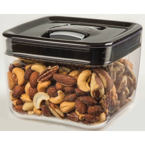 Deluxe Mixed Nuts in Acrylic Jar w/Snap Lid