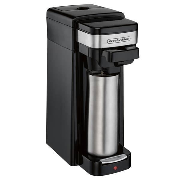 Single Serve Coffee Maker Using Ground Coffee : Proctor Silex Single Serve Coffee Maker