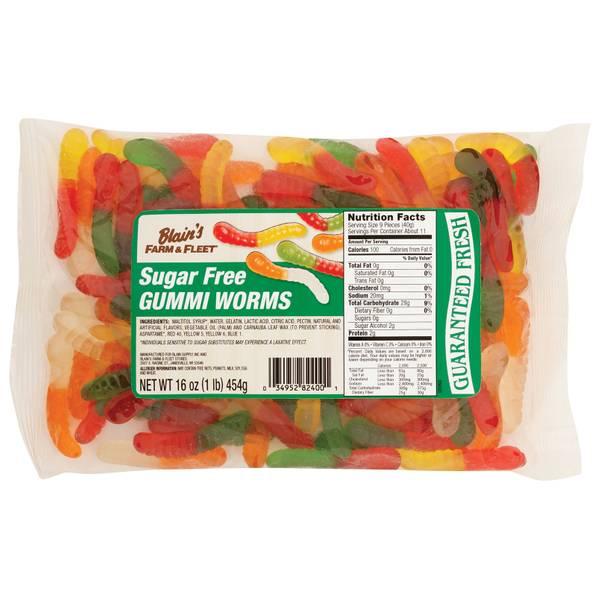 Sugar Free Gummi Worms