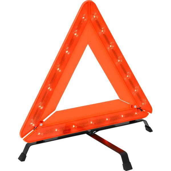 LED Lighted Emergency Warning Triangle