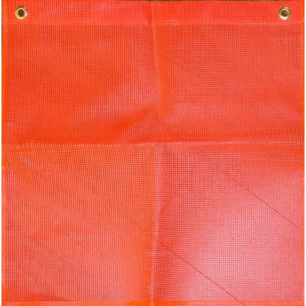 Fluorescent Mesh Safety Flag