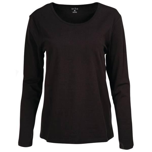 Women's Long Sleeve Crew Neck T-Shirt