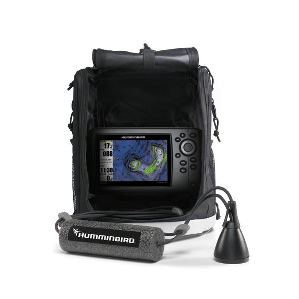 humminbird ice helix 5 sonar gps fish finder