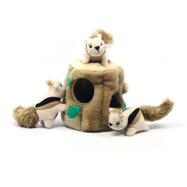 Kyjen Hide-A-Squirrel Puzzle Dog Toy