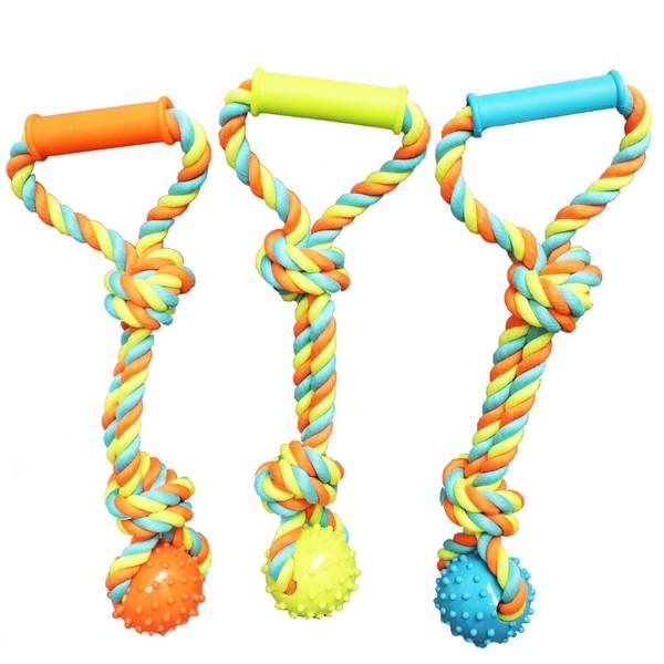 Chomper Rope Tug Dog Toy Assortment