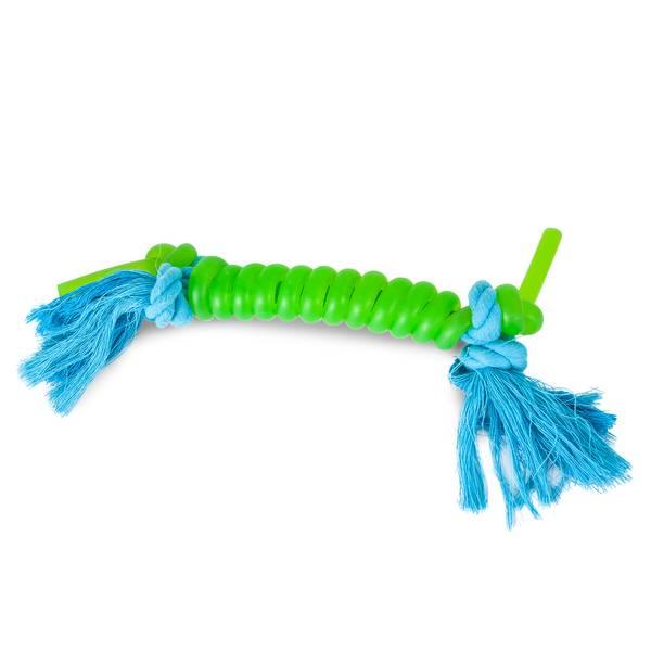 JW Elastarope Coiled Bone Dog Toy
