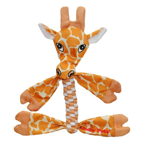 Small Animal Giraffe Squeaking Dog Toy
