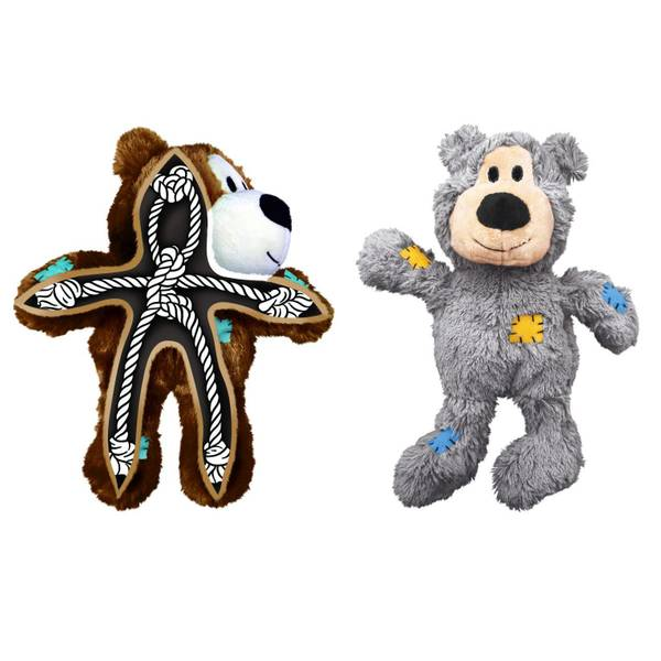 Wild Knots Bears Dog Toy Assortment