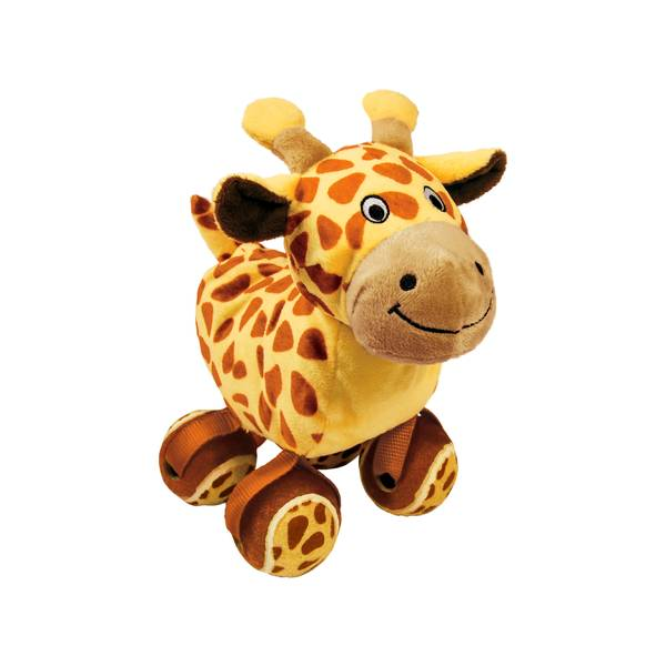 Tennis Shoes Giraffe Dog Toy