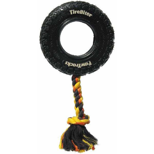 Tirebiter Chew Toy with Rope