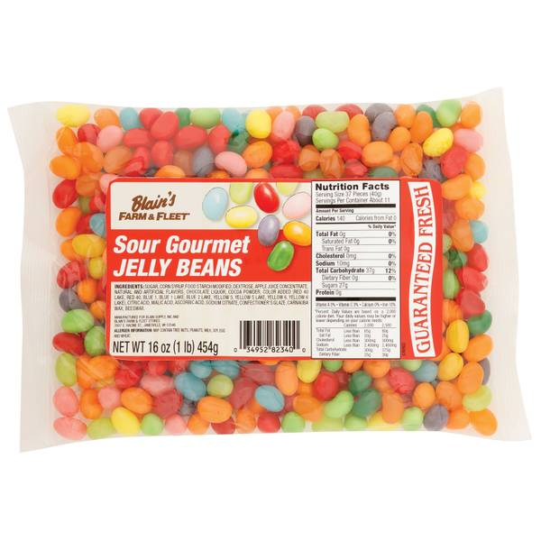 Sour Gourmet Jelly Beans