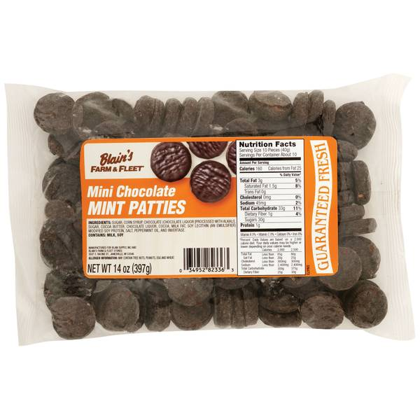 Mini Chocolate Mint Patties