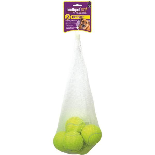 Tennis Balls - 5 Pack