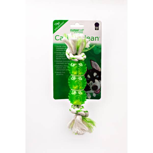 Canine Clean Spearmint Rope Dog Toy