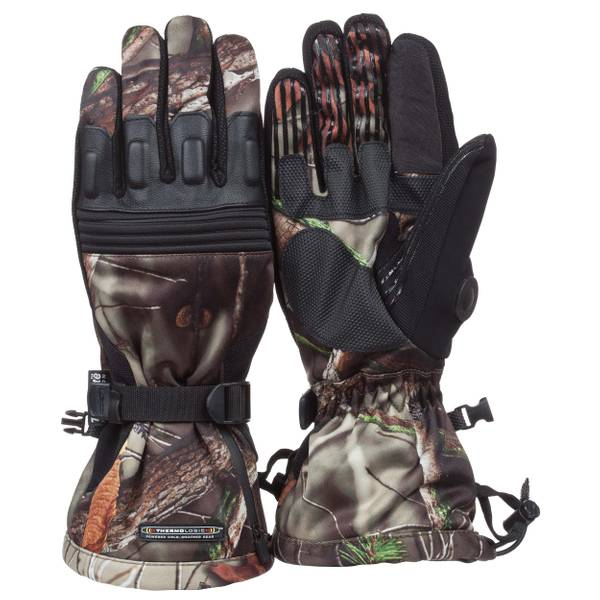 Men's Camo Heated Gloves
